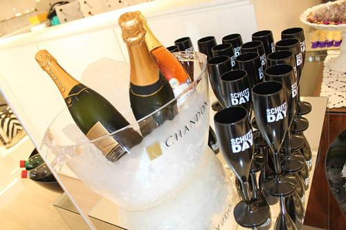 Para brindar, nada melhor que champã