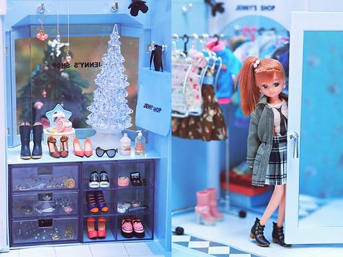 miniatures doll rement licca diorama momoko takarajenny jennysshop