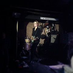 """Savages - 2015 NYC Residency, Mercury Lounge, New York City, NY 1-21-15 • <a style=""""font-size:0.8em;"""" href=""""http://www.flickr.com/photos/79463948@N07/22937912754/"""" target=""""_blank"""">View on Flickr</a>"""