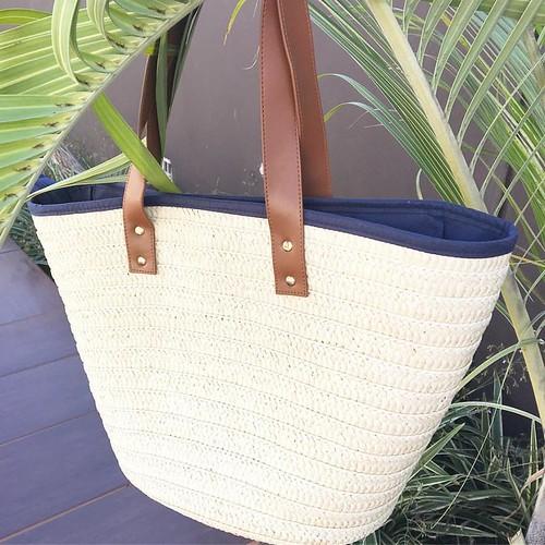 Bolsa de palha com glamour, a tem que ter do verão