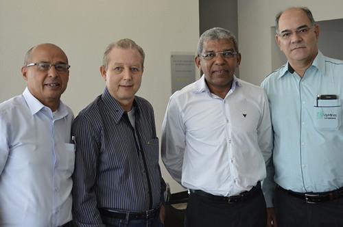 Rui Fernandes, José Maria Facundes, Dermeval Augusto e Célio Paviône - Foto Emmanuel Franco