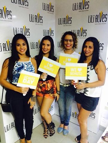 Ingred Figueira, Nicolle Linhares, Maria Celeste Soares e Telma Santos.