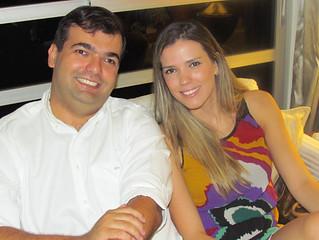 Eron dos Santos Carvalho Filho e Aline Amaro