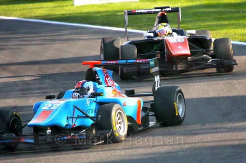 GP3 Race 1 at the 2015 Belgium Grand Prix