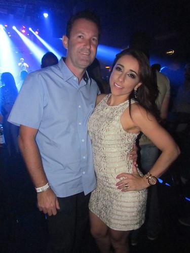 Geny Barreto e o marido
