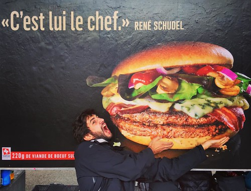 C'est lui le chef  #foodporn  @ #Neuchâtel