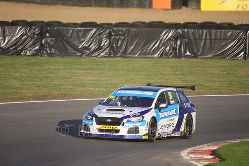 Warren Scott during the BTCC Brands Hatch Finale Weekend October 2016