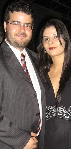 Dr. Walter Freitas de Morais Jr. e Marina