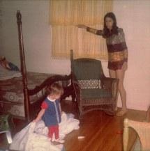 1960s Woman Barefoot