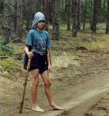 Boys Barefoot Summer