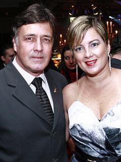 Márcio Penna e Daniela Sírio