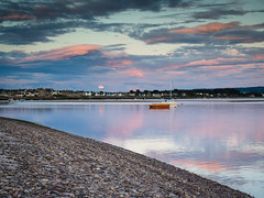 "Evening Moonrise over Findhorn • <a style=""font-size:0.8em;"" href=""http://www.flickr.com/photos/26440756@N06/20978733522/"" target=""_blank"">View on Flickr</a>"