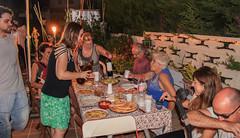 Sopar d'estiu al carrer St Bru
