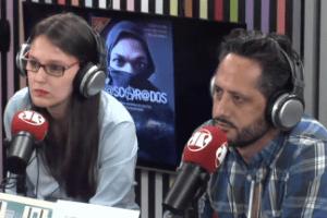 Humorista Carioca bate boca com autores de livro sobre black blocs