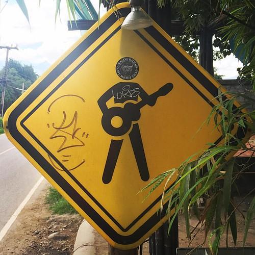#rocknroll  @ #Pai #Thailand  #thailoup #traveloup
