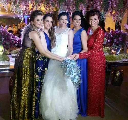 Poliana, Tatiana, Fernanda, Priscila e Lilian Cabral