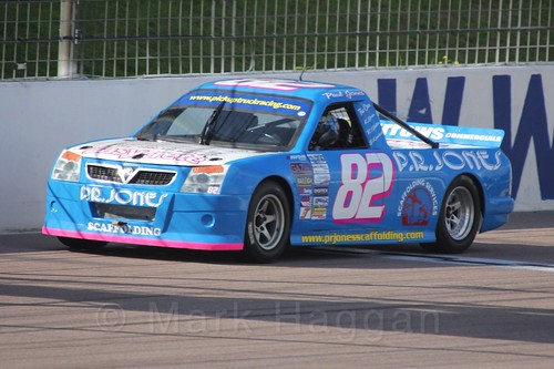 Paul Jones in Pick Up Truck Racing, Rockingham, Sept 2015
