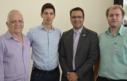 Geraldo e Guilherme Cruz, Tiago Barcelos e Marcinei - Foto Emmanuel Franco