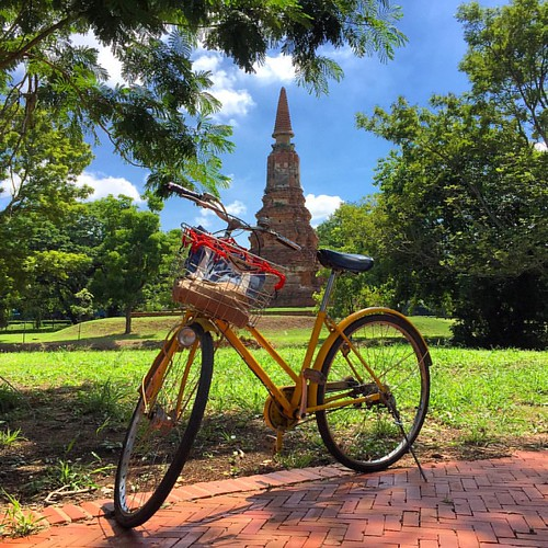 #Bycicle #ride  @ #Ayutthaya #Thailand  #thailoup #traveloup