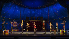 The company of the national tour of PIPPIN presented by Broadway Sacramento at the Sacramento Community Center Theater Dec. 29, 2015 – Jan. 3, 2016.  Photo by Joan Marcus.