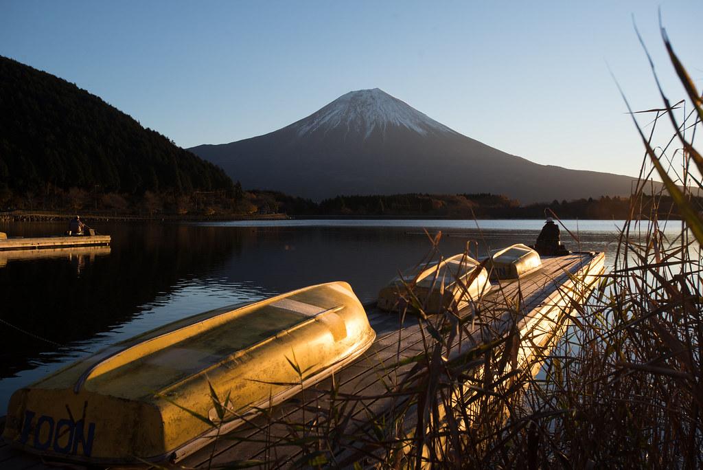 Mt Fuji in the morning