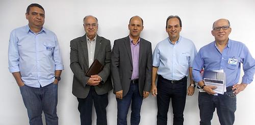 Jéferson Bachour, Carlos Afonso, Guilherme Estrella, Luciano Araújo e Alexandre Torquetti Jr.