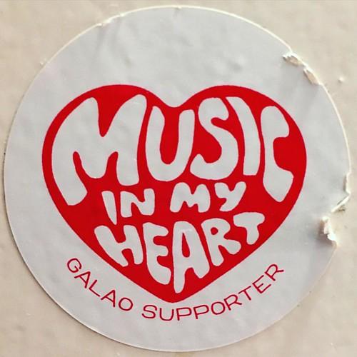 <3 #MUSIC IN MY #HEART  #galāo supporter @ #0711 #Stuttgart