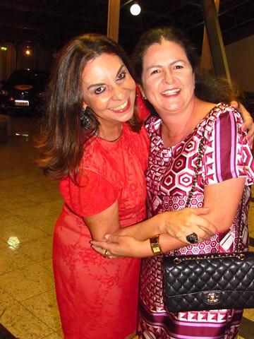 Valéria Souza eAna Maria Bonfim, irmãe de coração