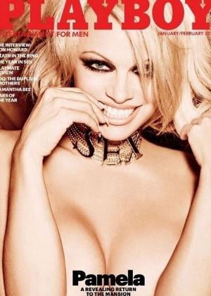 """Pamela Anderson será a última capa com nu da """"Playboy"""" americana"""