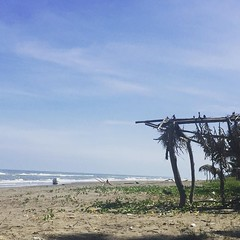 Have come to my first true Mexican beach town. Couldn't resist grabbing a coke and bumming on the beach for a few hours. Nothing like having an entire beach to yourself. #theworldwalk #travel #Mexico #twwphotos #beach