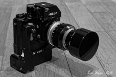 Nikon F with motor F36