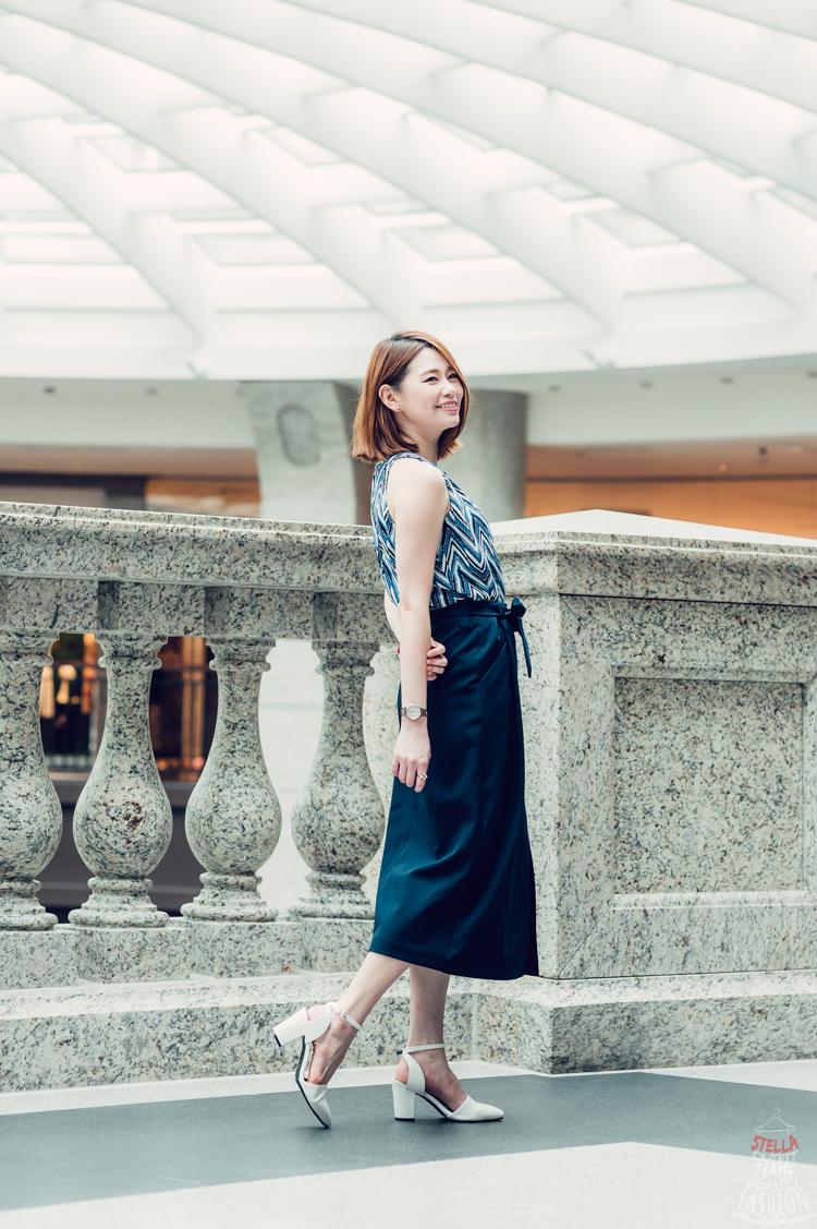 【日穿搭】微性感高腰長版窄裙,約會or正式場合都能輕鬆駕馭!! - Stella 小美人。史黛拉