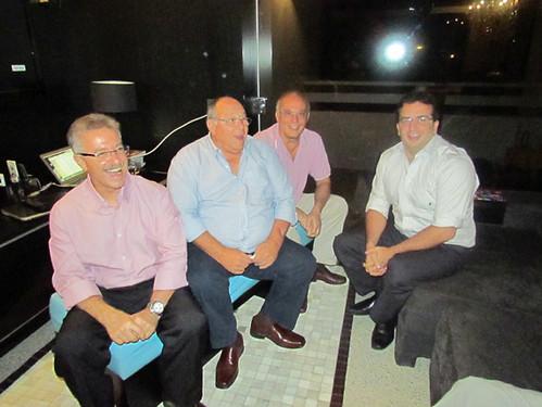 Julio Saliba, Antônio Albert, Marco Aurélio Libero e João Marcelo Machado.