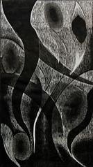 FLUIDI, xilografia (2matrici)
