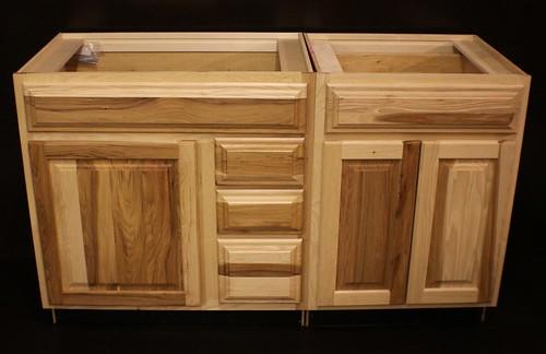 Kraftmaid Hickory Bathroom Vanity Sink Base Cabinet Set 57  eBay