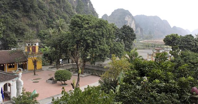 the pagoda's location