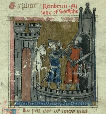 Auchinleck Manuscript - Reinbroun