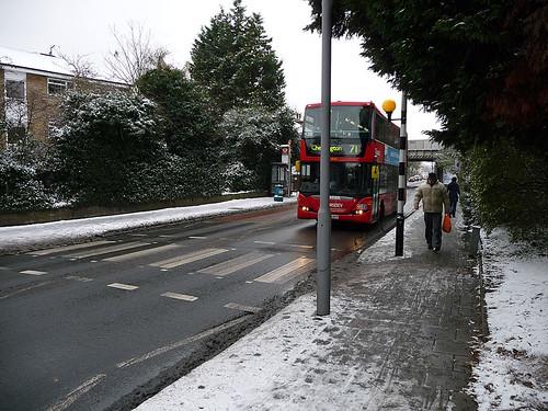 Snow in Surbiton - December 2010