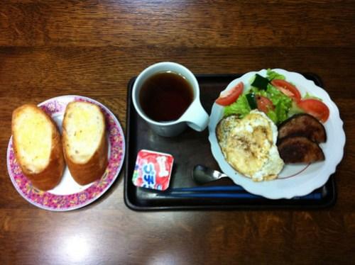 朝食 20101219
