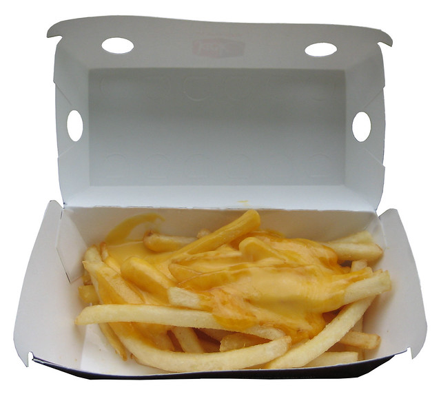 Jack in the Box Cheesy Fries