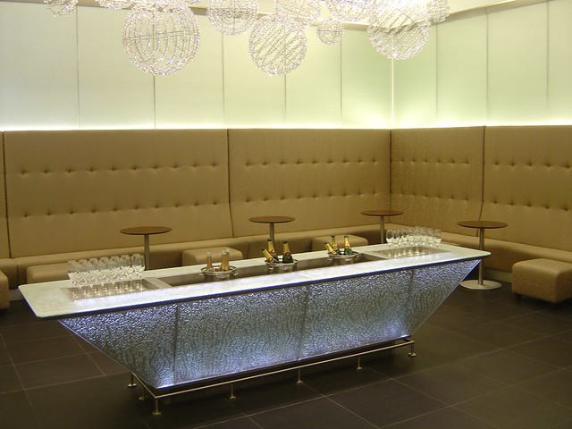 BA First Class Lounge: Terminal 5 Heathrow (May 2008)