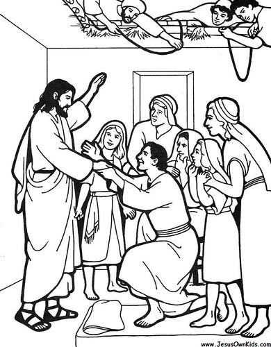 40f2. Matthew- Jesus Healing the paralytic man www.JesusOw