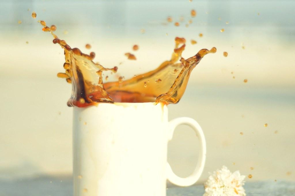 Day 2/365 - Coffee Splash!