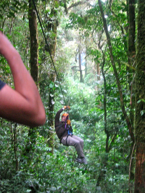 Zip line tour in Boquete, Panama