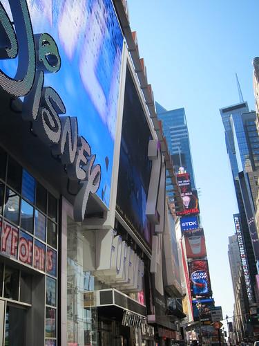Disney Store, Times Sq. NYC. Nueva York
