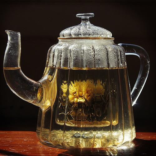 glass teapot. (365/60)