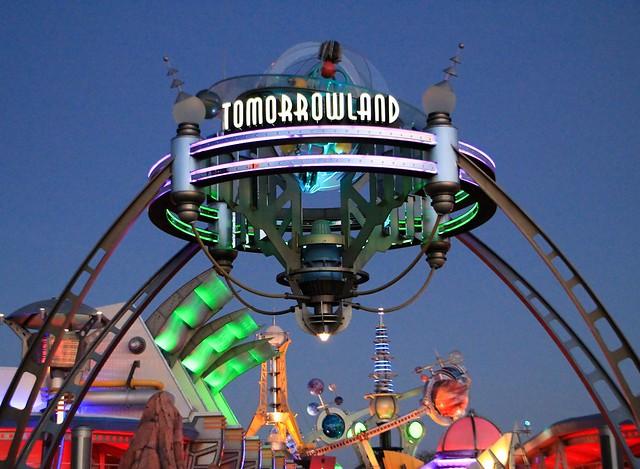 Tomorrowland at Dusk