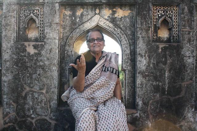 City Hangout – Poet Zehra Nigah in Mehrauli