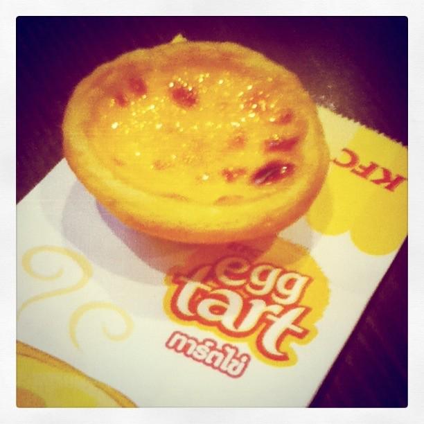 egg tart!