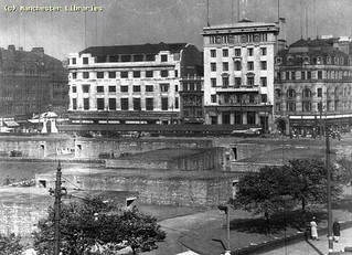 Piccadilly Gardens Bomb shelters 1940